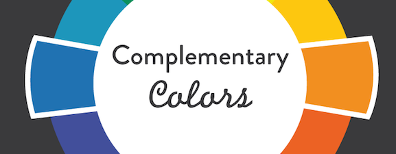 Use a colour wheel to discover complementary colours